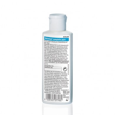 Picture of Skinman complete pure 100 ml Händedesinfektion