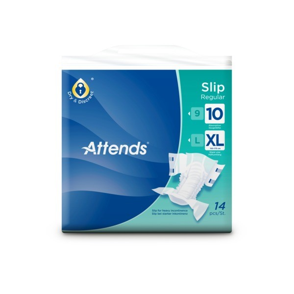 Picture of Attends Slip Regular 10XL - 1 Pack 14 Stück