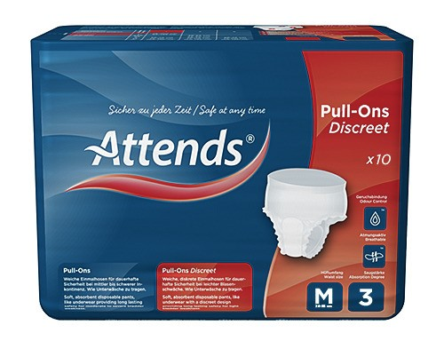 Picture of Attends Pull-Ons Discreet 3M - 1 Packung 12 Stück