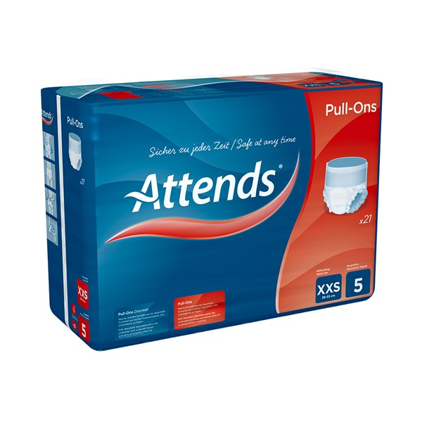 Picture of Attends Pull-Ons 5XXS - 1 Packung 21 Stück