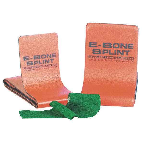 Picture of Lifeguard E-Bone Splint > Standard, Farbe: grau-orange , 100 x 11cm, 1 Stück