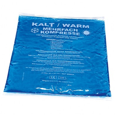 Picture of Kalt-/Warm Kompressen blau 30 x 40 cm